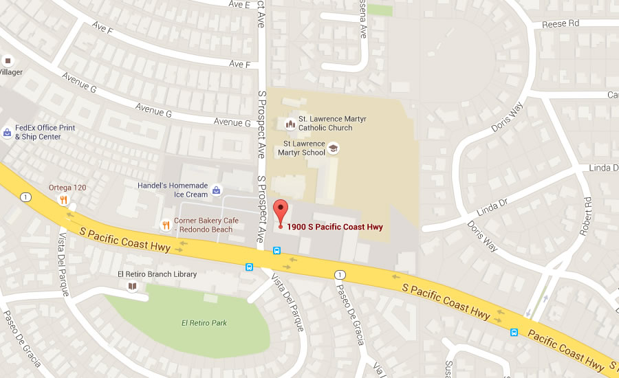 Redondo Beach - Find us on Google Maps